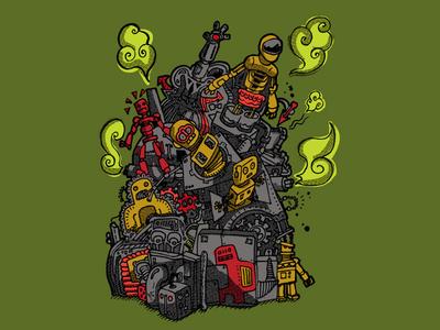 Pile of Robots