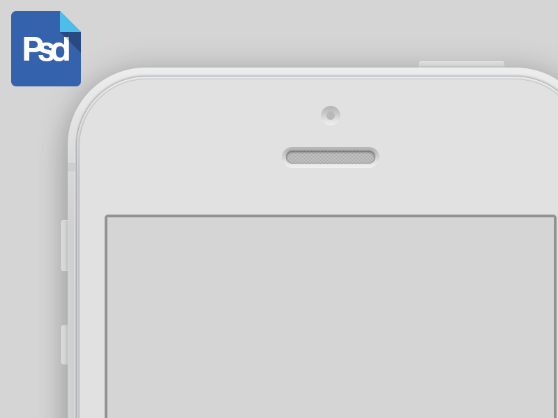 iPhone 5 Mockup PSD iphone 5 mockup psd freebie
