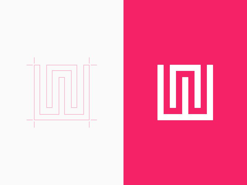 NorthWest logo identity minimal brand guide west north