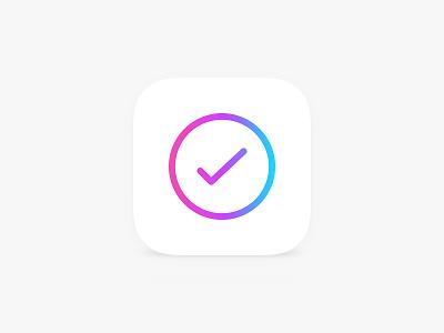 App Icon iOS 7 app todo minimal simple creative ios iphone clean unique friends