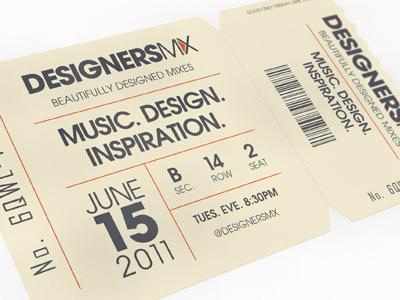 Designers.MX Ticket