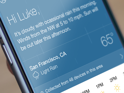 Sunshineº App app sunshine ios iphone hyperlocal accurate network weather