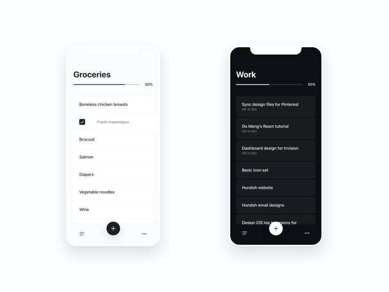 Do More Task List learning ai minimal iphonex iphone ios to do todo tasks