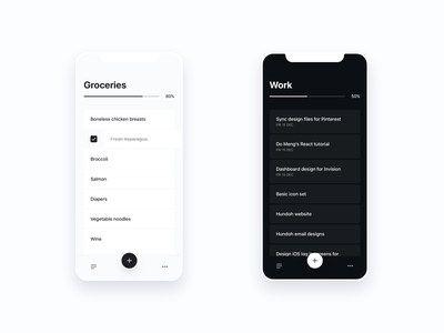 Do More Task List learning ai minimal iphonex iphone ios to do todo tasks
