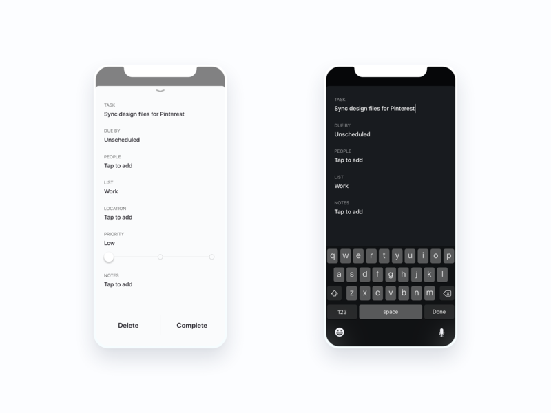 Do More Task Details to do todo tasks minimal learning iphonex iphone ios ai