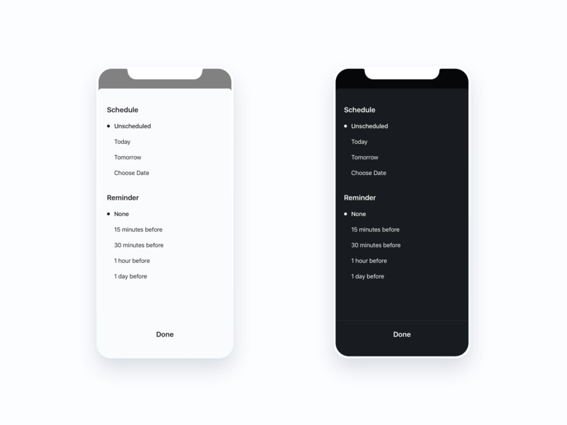 Do More Task Schedule Options to do todo tasks minimal learning iphonex iphone ios ai