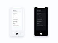 Do More List View to do todo tasks minimal iphonex iphone learning ios ai