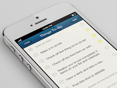 Shared To-Do Lists couple app iphone 5 ios to-do lists shared lists