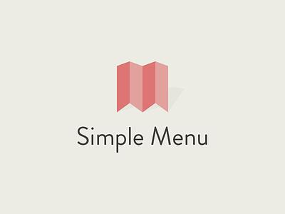 Simple Menu simple menu order expand logo branding identity simplicity minimal