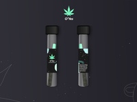 O.O.Z. Pre-roll product packaging product package design packaging brand design branding