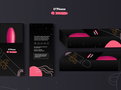 O.O.Z. Sex Toy package design product design product brand identity brand design branding design