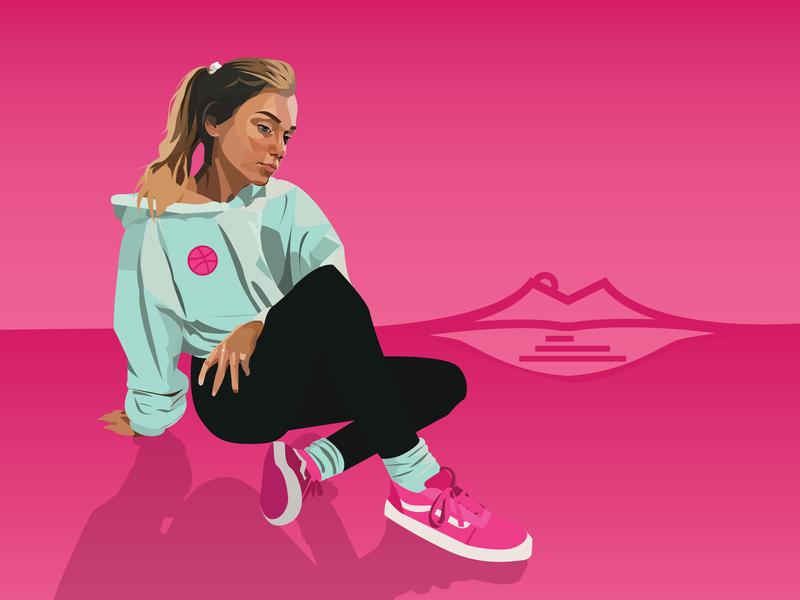 Dribbble 01 branding logo design illustration