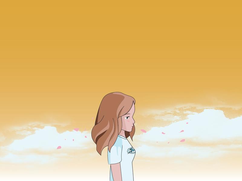 Ghibli Self Portrait branding design movie kawaii anime illustration self-portrait studio ghibli