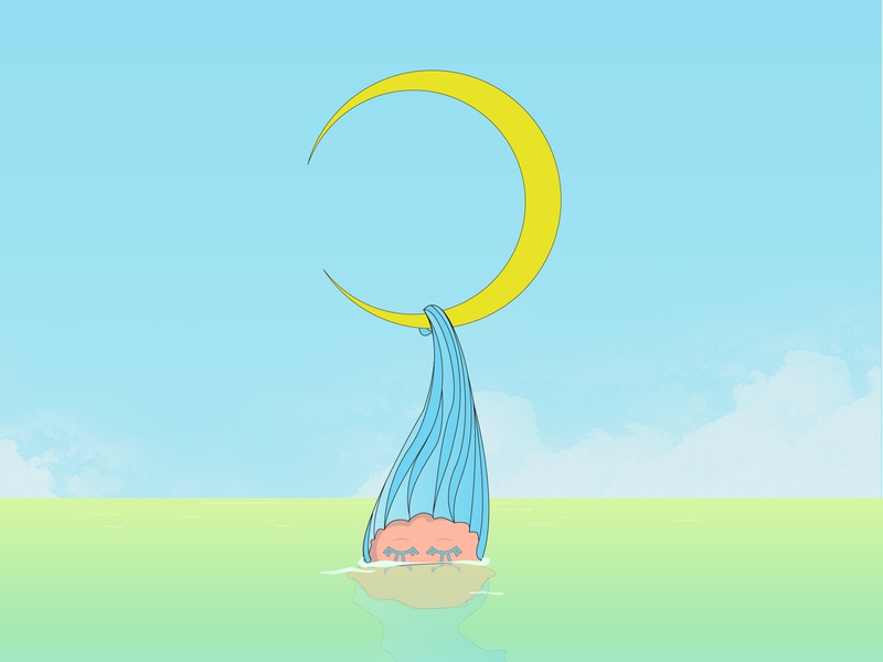 TsukiMizu branding characterdesign character kawaii anime illustration design
