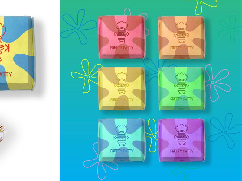 Krusty Krab Rebrand 3/5 spongebob food brand identity brand logo brand design illustration branding design