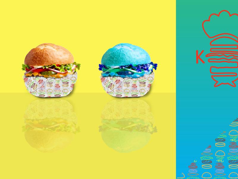Krusty Krab Rebrand 4/5 spongebob food brand identity brand logo brand design illustration branding design