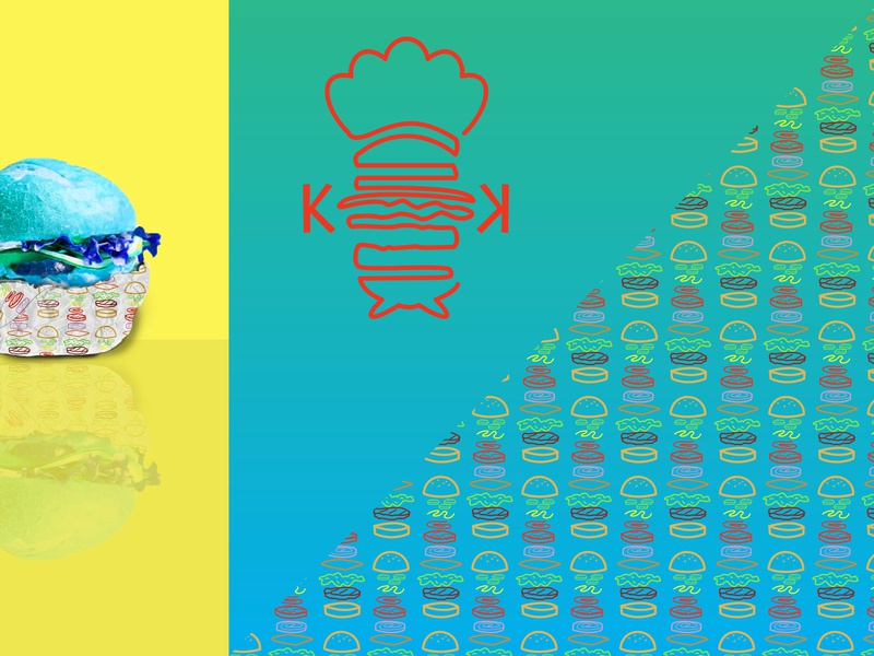 Krusty Krab Rebrand 5/5 spongebob food brand identity brand logo brand design branding design