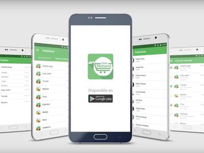 Vive Natural App