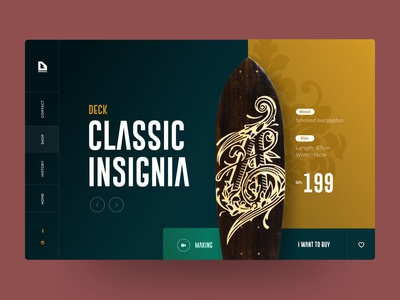 Arniko Store (Concept) - Website Design