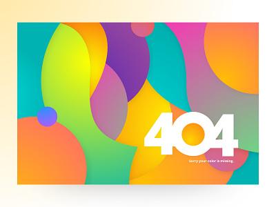404 Page! prabin abstract kathmandu nepal interface website webdesign vibrant ecards color 404 error page 404