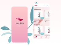 Cosmetics brand app