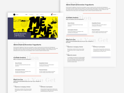 Web Exploration - Volunteer Vacancy Web - Event Detail