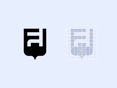 Logo Symbol for Financial Institute finance symbol minimal logo branding