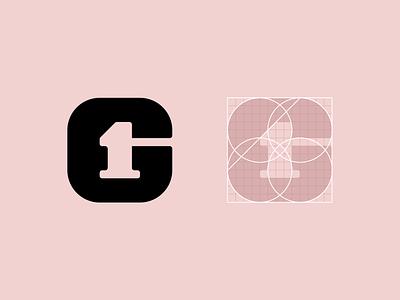 Logo Symbol for First Gymnasium gymnasium school symbol minimal branding logo