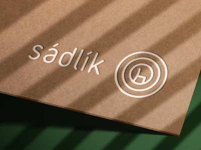 Logo for Wood Chair-maker tree annual rings symbol chair wood logo