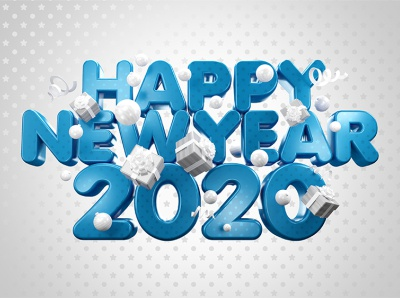Happy New Year 2020 / Сolor Of The Year