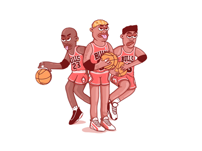 The last dance - personal illustration photoshop graphics draw cartoon jordan characterdesign digitalart illustration chicagobulls basketball