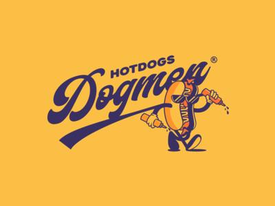 Hotdog logo - Dogmen