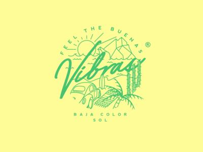 Buenas Vibras - Badge logo