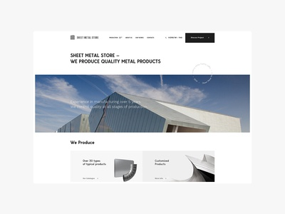 Sheet Metal Products - Company Website