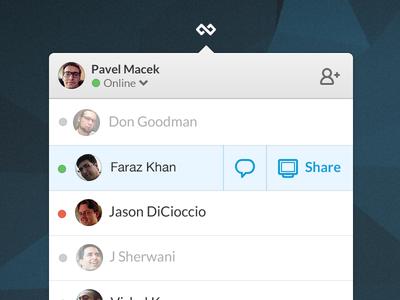 Screenhero for Mac moves to status bar