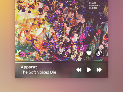 SoundBar for Mac  soundcloud widget menubar mac music os x