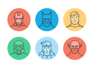 Screenhero team illustration illustration hero line