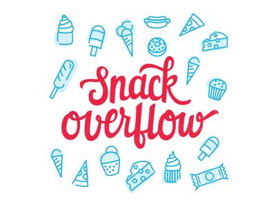 Snack Overflow illustration
