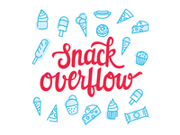 Snack Overflow illustration