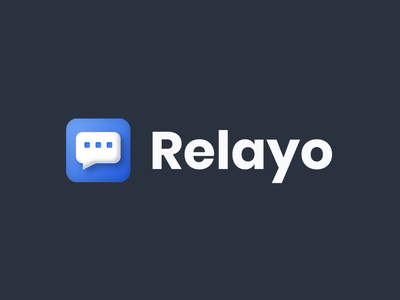 Relayo logo ideas web app design website ui logo icon branding