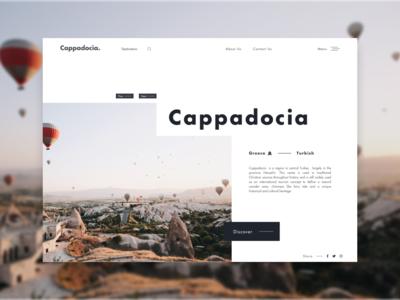 Cappadocia - Daily Ui 02