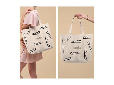 Nada - Zero waste webdesign web illustrator app ui ux typography type design logo branding