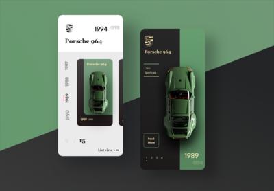 Porsche Car APP