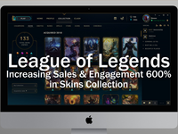 League of Legends: Improving Skins Collection Sales