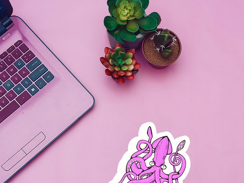 Custom Stickers Online by SingaPrinting on Dribbble