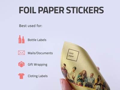 Foil Paper Stickers
