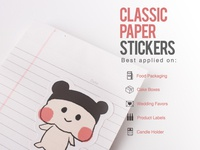 Classic Paper Stickers