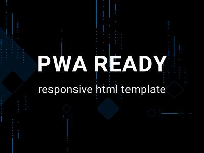 PWA  ready responsive html template ui  ux ui design webdesign web site web performance html css css3 html template html5 pwa
