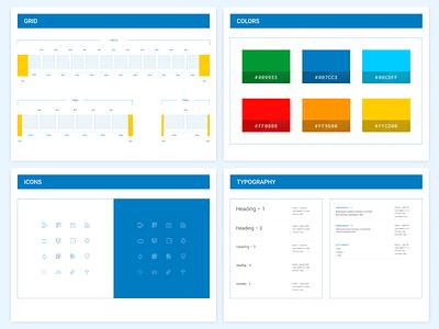 Design guideline for fintech platform (part 1.1) guideline ux ui web dedsign grid figma payment service fintech money bills web-form