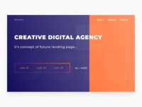 Concept landing page (in progress)